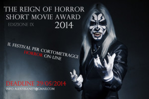 THE REIGN OF HORROR SHORT MOVIE AWARD 2014