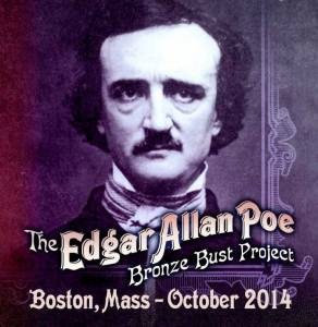 Izzy Lee: EDGAR ALLAN POE Bronze Bust Project