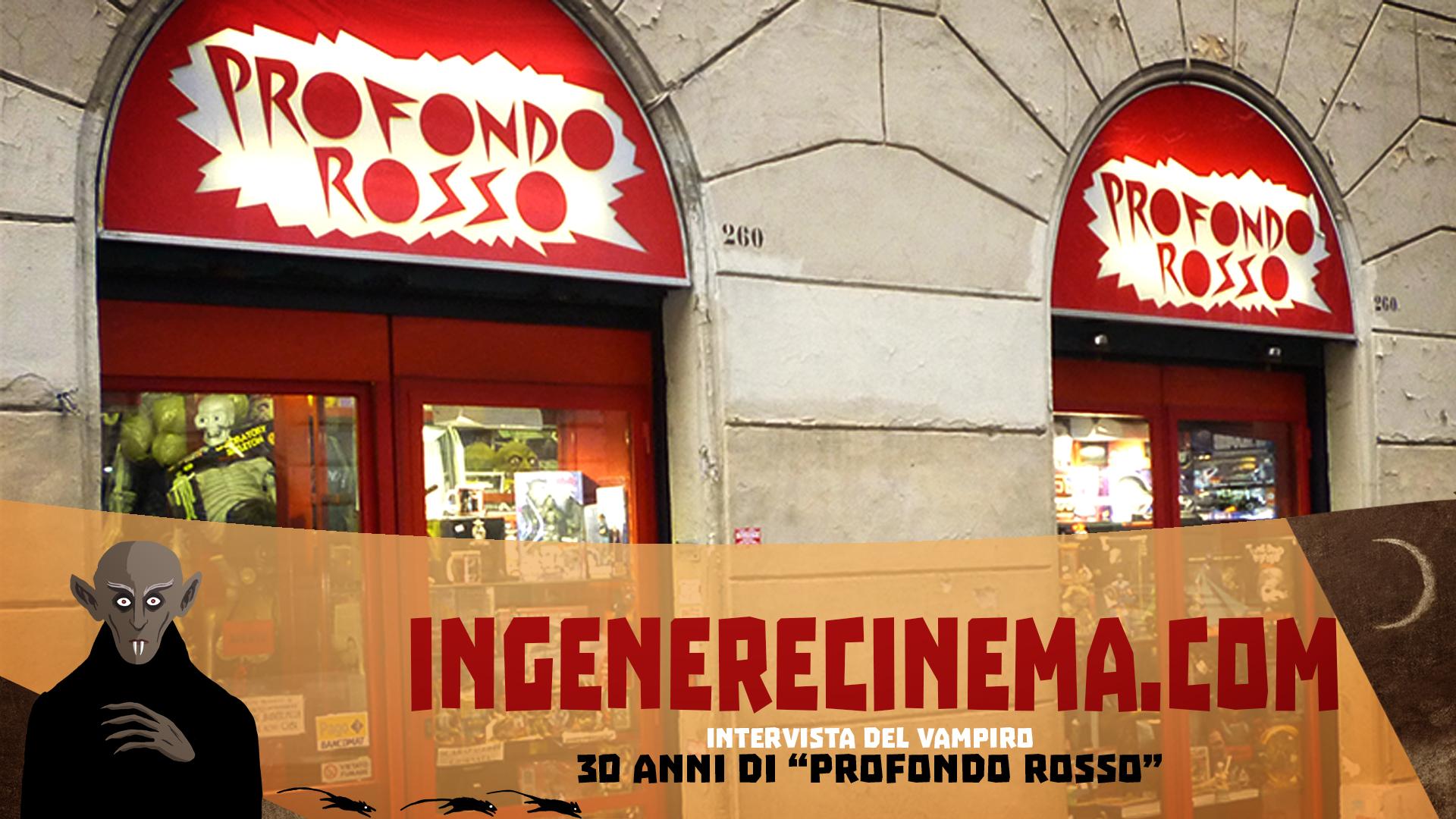 """30 anni di """"Profondo Rosso Store"""": Intervista…"""